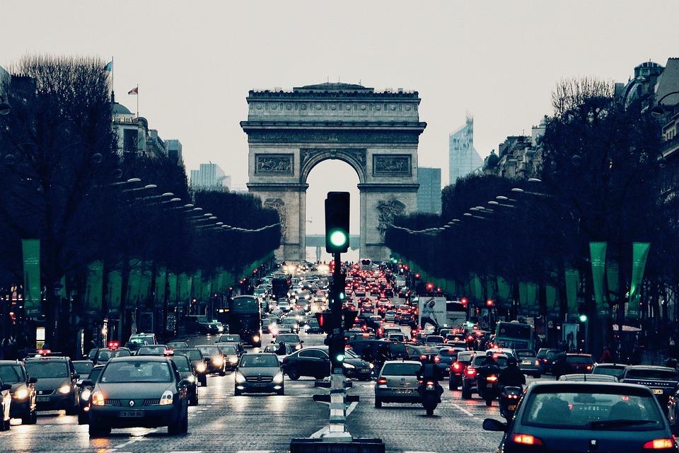 roadtrip naar Parijs