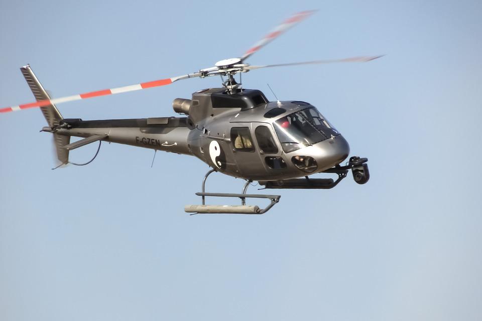helikoptervlucht maken
