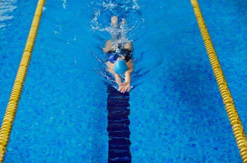 fit worden door te zwemmen