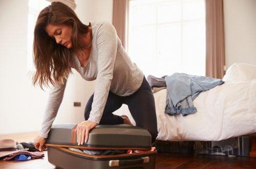 koffer pakken voor vakantie