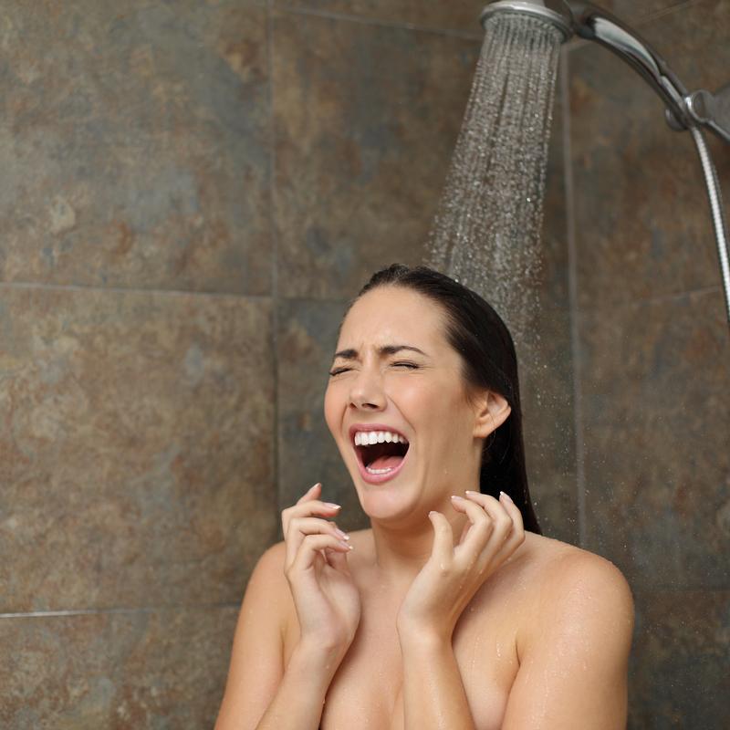 koud douchen is gezond