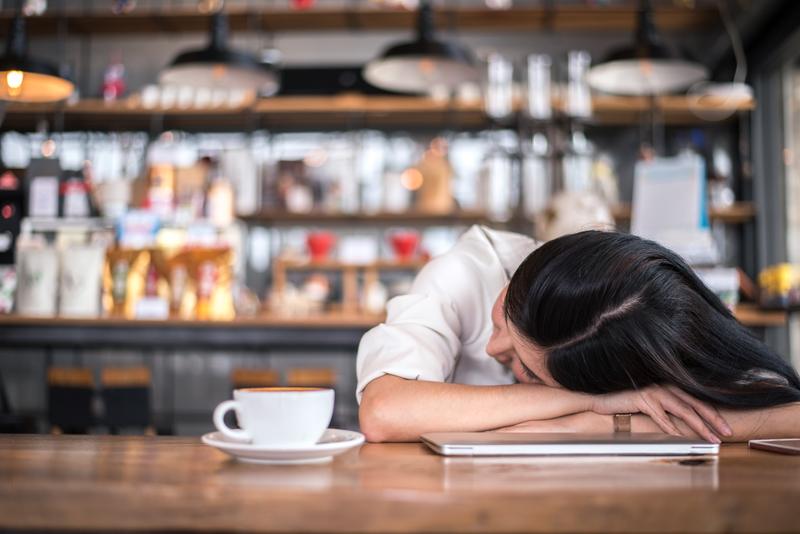 Vermijd koffie en alcohol