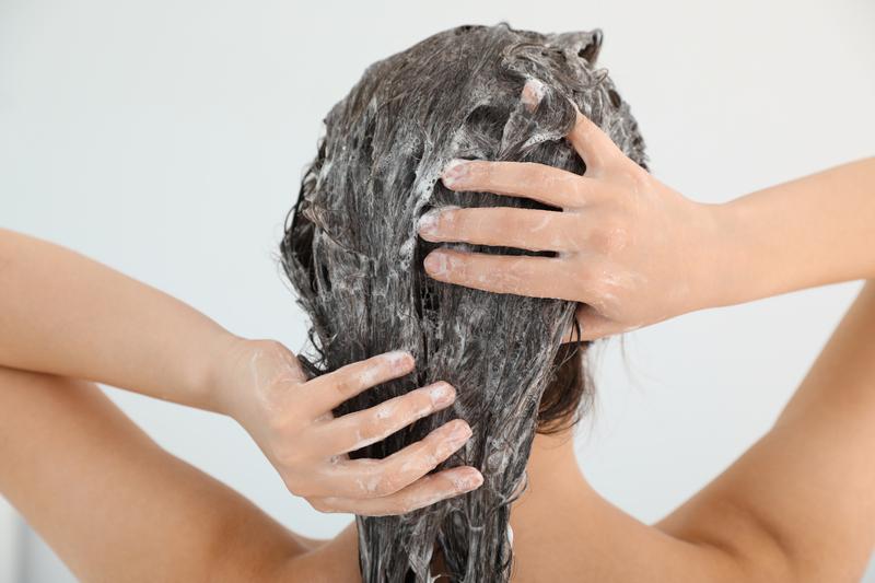 haren wassen zonder shampoo