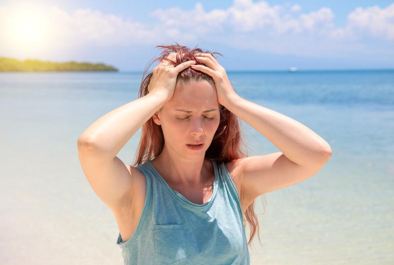 hoofdpijn-in-de-zomer