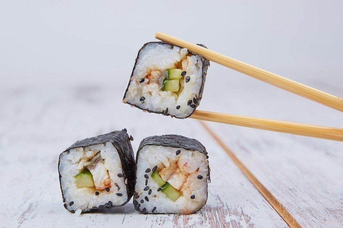 sushi eten is altijd een goed idee