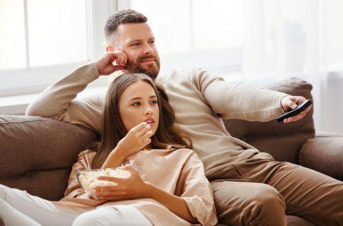 tv kijken samen