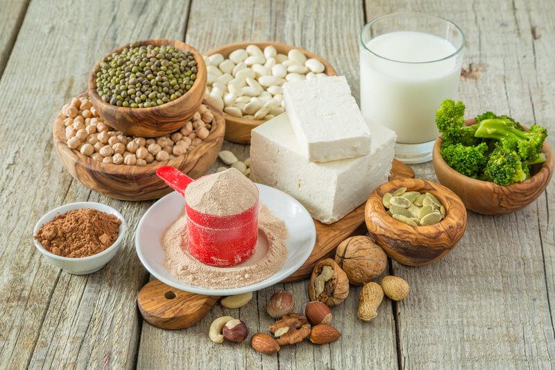 vegan protein poeder