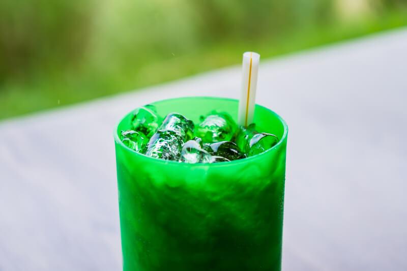 recyclebare plastic glazen